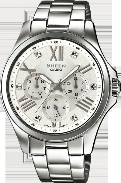 Minőségi Casio Casio Sheen órák vásárlása — Webshop ingyenes házhoz ... c8e23f6261