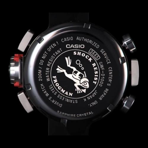 Casio G-Shock karóra GWF-D1000-1ER FROGMAN vásárlás — Minőségi Casio ... ad74b7b691